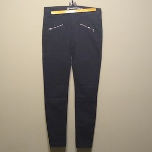 Tinseltown black pants with textured patches, 7